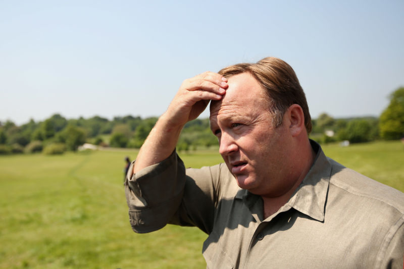 Alex Jones's Infowars podcasts pulled from iTunes and Spotify