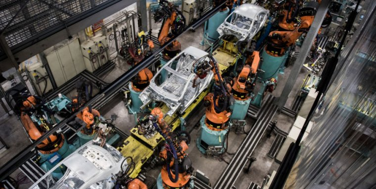 Building cars—as seen here at a Mercedes-Benz factory in Kecskemet, Hungary—is harder than designing them.