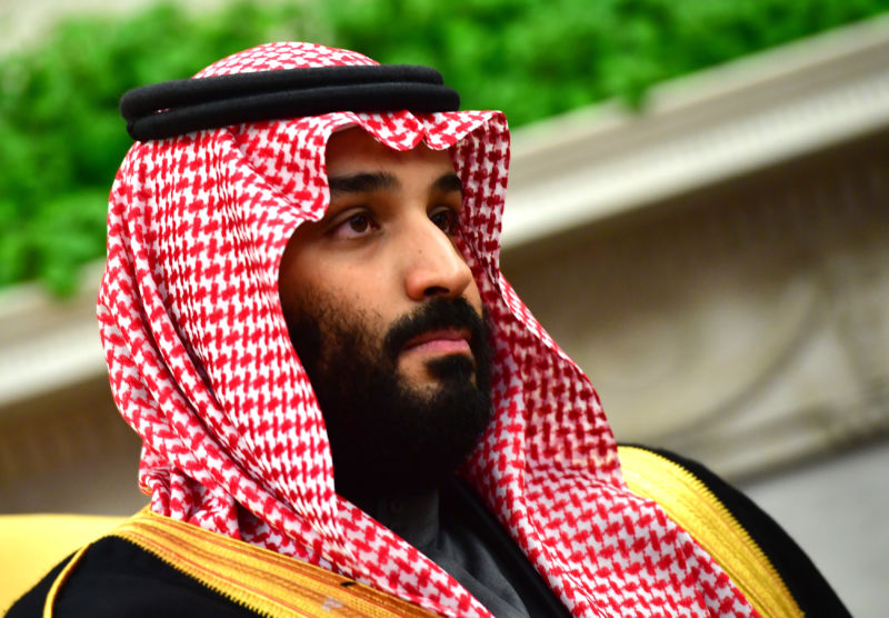 Crown Prince Mohammed bin Salman of the Kingdom of Saudi Arabia.