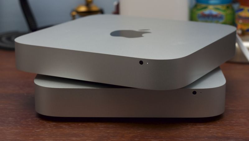 2014 Mac mini and 2012 Mac mini