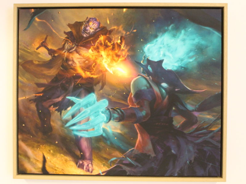 One of many pieces of art commissioned for the cards in <em>Artifact</em>, coming to Steam in November of this year.