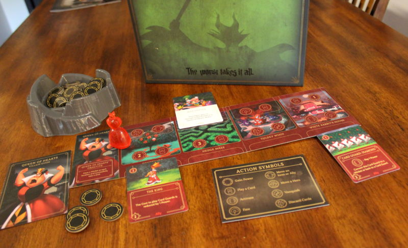 Play a Disney villain in new Villainous board game