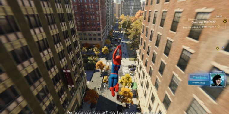 See how much faster Sony's next PlayStation can load Spider-Man