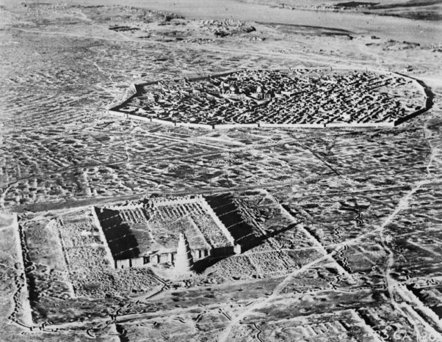 This is what Samarra looked like in the early 20th century.