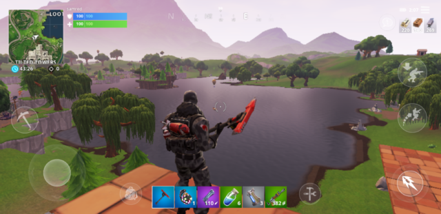 Fortnite on Android gets off to a bumpy, Samsung-only start, lags
