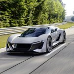 Audi S New Electric Sports Car Concept The Pb18 E Tron Ars Technica
