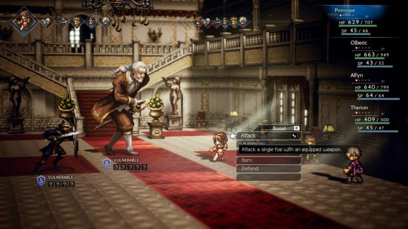 Human villains and rivals ground <em>Octopath Traveler</em> in a set of societal rules to follow or break.
