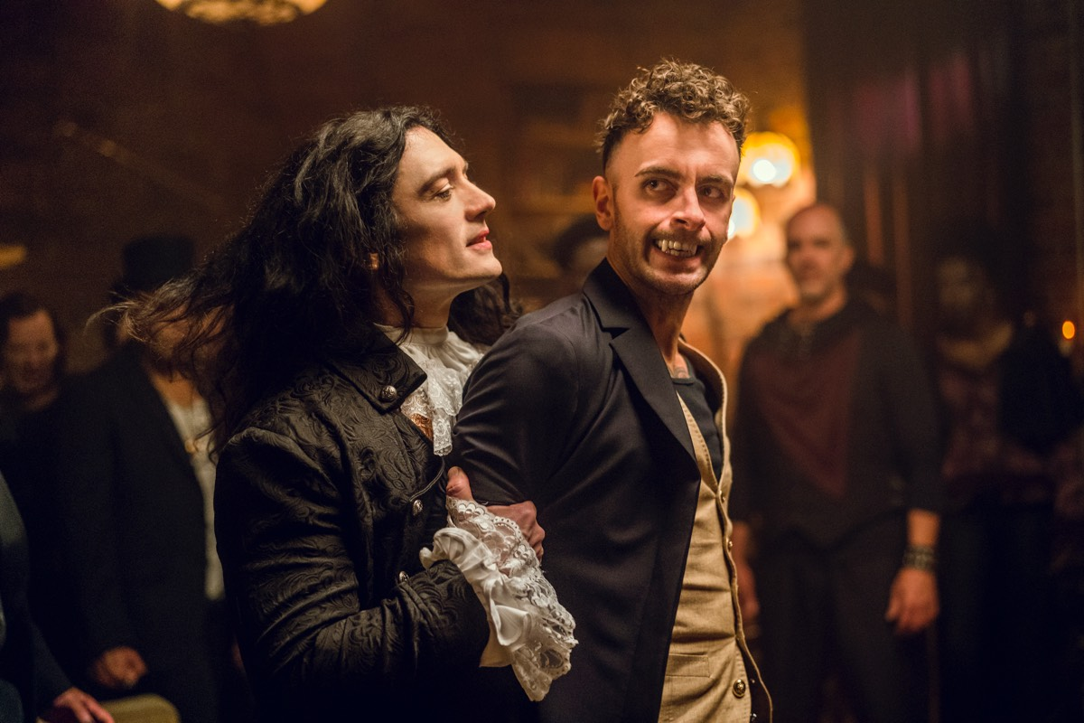 Eccarius (Adam Croasdell) turns on Cassidy (Joseph Gilgun) when the latter threatens to expose his treachery.