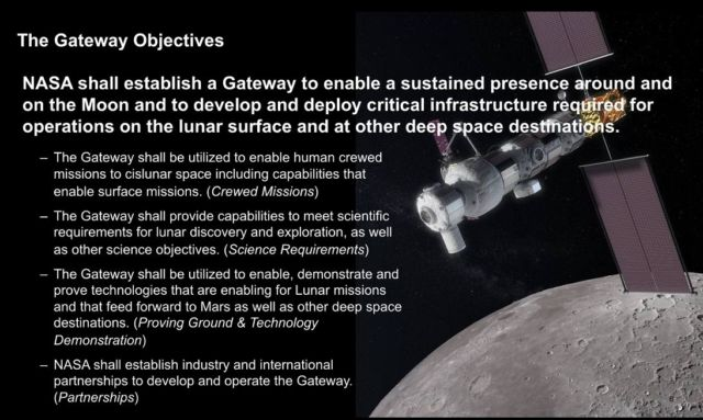 NASA says it's building a gateway to the Moon—critics say