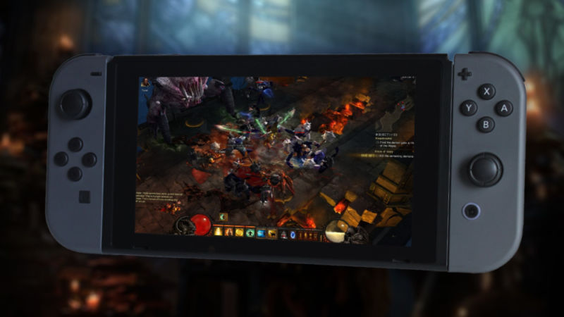 Diablo III's Switch Port Made Official, Coming This Year