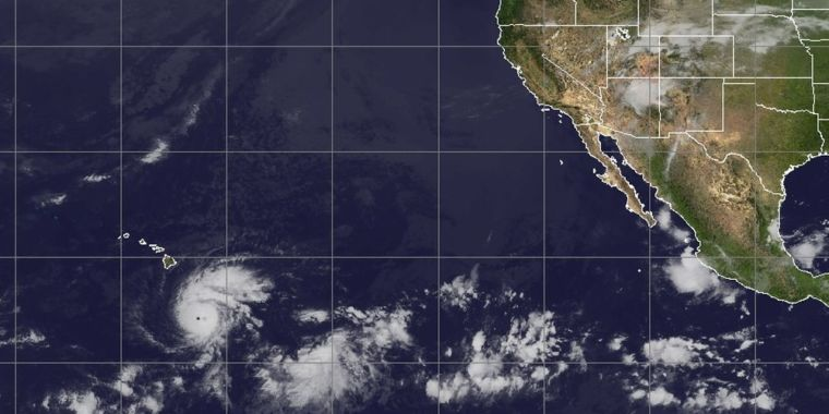 Two Hurricanes Have Hit Hawaii in a Century. A Third One is Bearing Down.