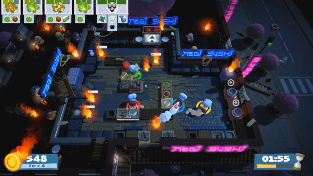 Overcooked 2 puts some icing on the original's delicious co