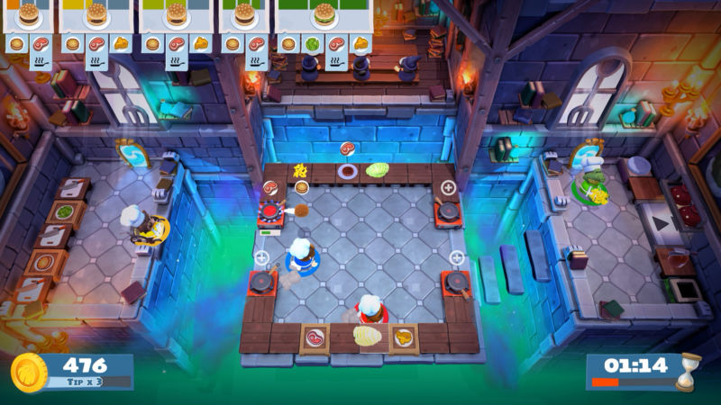 Overcooked 2 Puts Some Icing On The Original S Delicious Co Op Cake