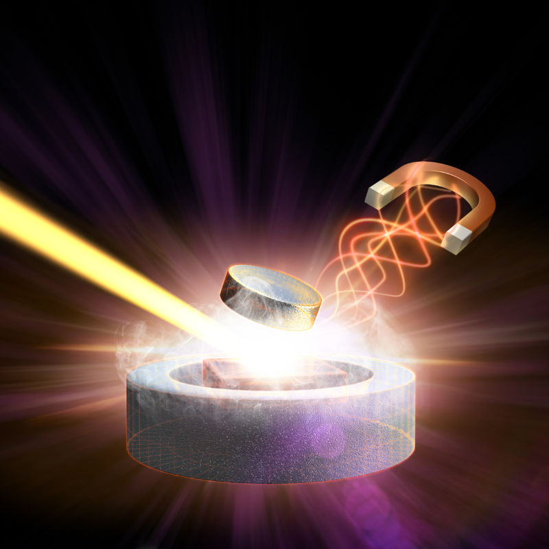 Lasers, magnets, and superconductors, oh my! The lasers have nothing to do with this story, but the other two are critical to understanding it.