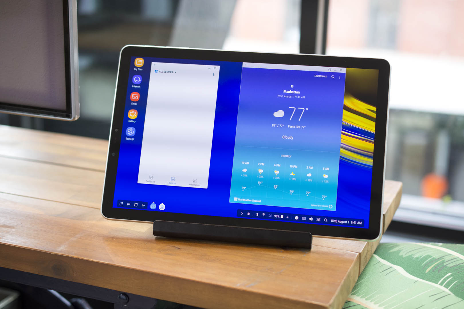 Galaxy Tab S4 Review Even Samsung S Dex Desktop Can T Save Android