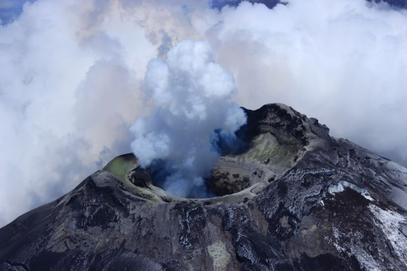 "The Cotopaxi volcano in Ecuador is ""the largest pipe organ you've ever come across."""