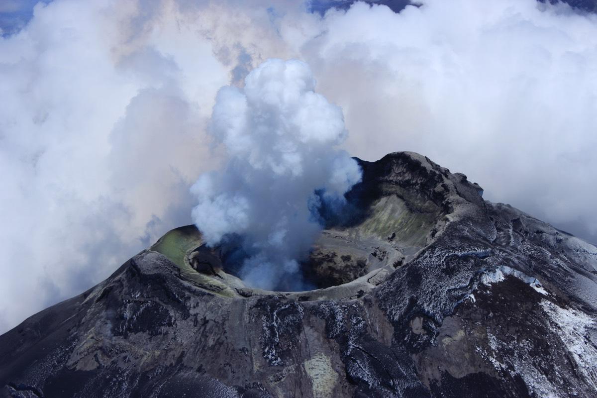 "The Cotopaxi volcano in Ecuador is ""the largest pipe organ you've ever come across."" <em>Credit: Silvia Vallejo Vargas/Insituto Geofisico, Escuela Politecnica Nacional (Quito, Ecuador)</em>"