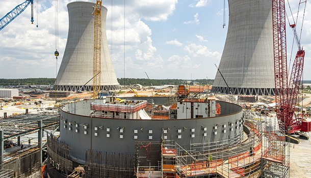 reactor under construction