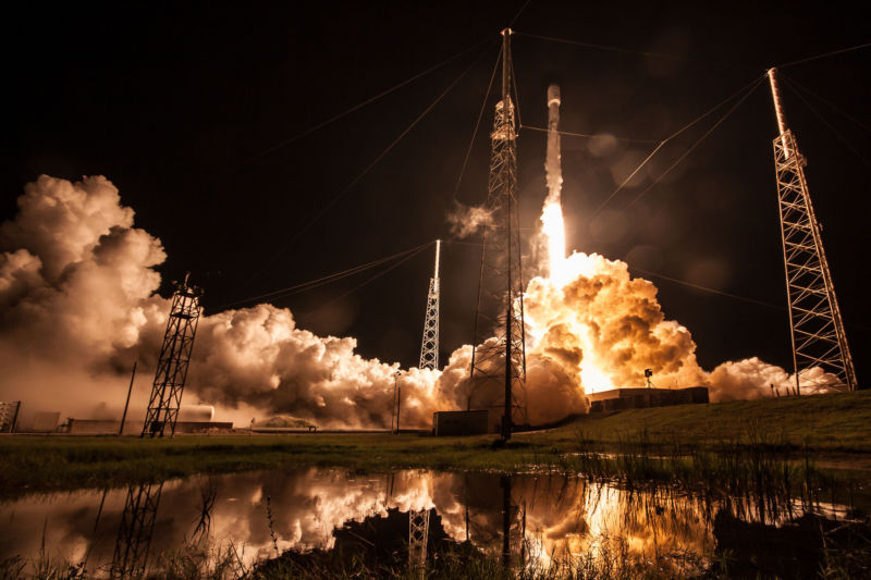 SpaceX launched a similar satellite, Telstar 19 Vantage, in July of this year.
