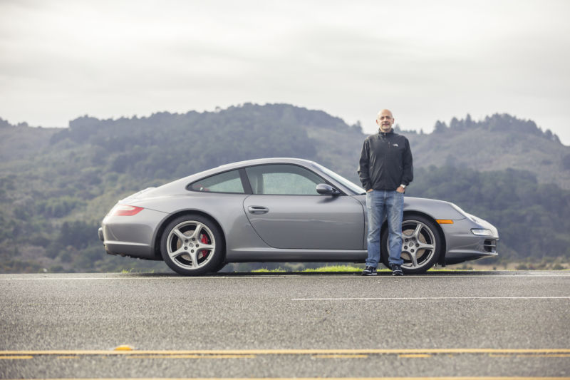 Andre Haddad is Turo's CEO, and his 2006 Carrera S was the first Porsche listed on the platform, back in 2012. Six years later and it's still in service, including a booking this weekend.