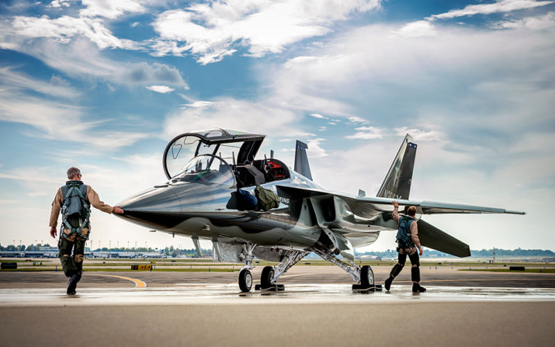 The Boeing/Saab T-X has won the Air Force's advanced jet trainer contract.