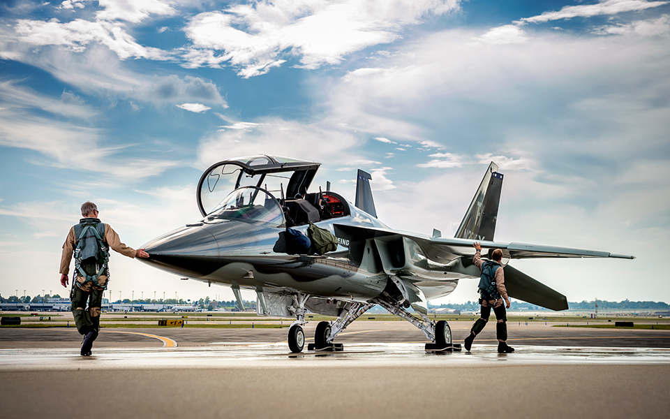 boeing saab joint t x design wins air force s jet trainer