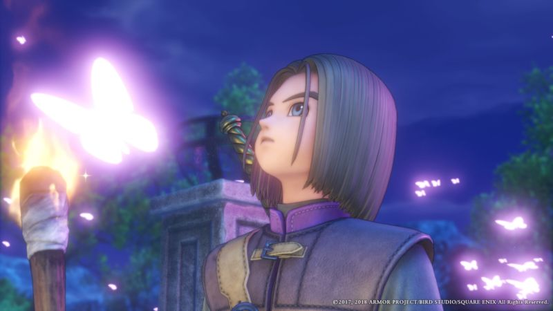 <em>Dragon Quest XI</em> is a lot of things, but it's always nice to look at.
