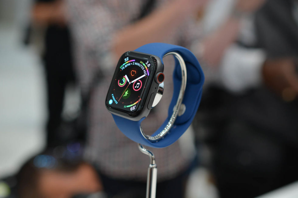 You can preorder the Apple Watch Series 4 today, starting at $399