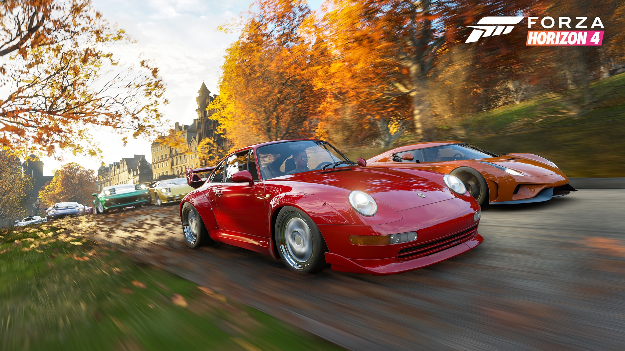 <em>Forza Horizon 4</em> isn't a racing <em>sim</em>, but it's a fun time all the same.