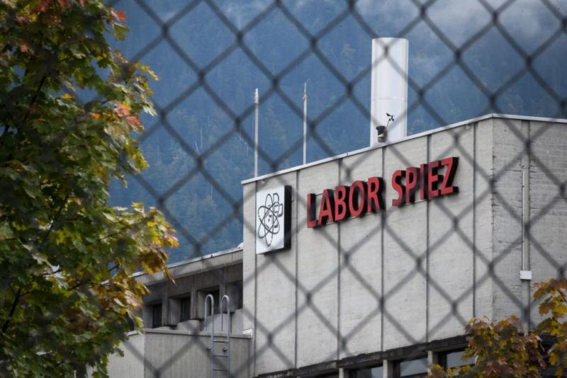 This picture, taken on September 14, 2018, shows the Spiez Laboratory, Swiss Federal Institute for NBC-Protection (nuclear, biological, chemical), in Spiez, 40km from the capital Bern, as Swiss newspapers reported that two Russian agents suspected of trying to spy on the laboratory were arrested in the Netherlands and expelled early this year. At the time, Spiez was analyzing data related to poison gas attacks in Syria, as well as the March 4 attack using the nerve agent Novichok on Russian double agent Sergei Skripal and his daughter in Salisbury, Swiss newspapers reported. (Photo by Fabrice COFFRINI / AFP)