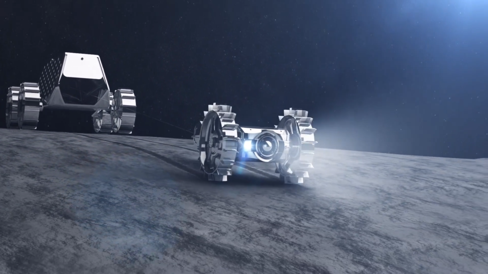 "Under ispace's plans, a ""mother"" rover would deploy a ""child"" rover."