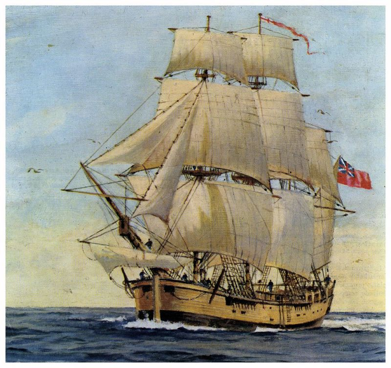 Captain Cook's HMS Endeavour found off the coast of Rhode Island