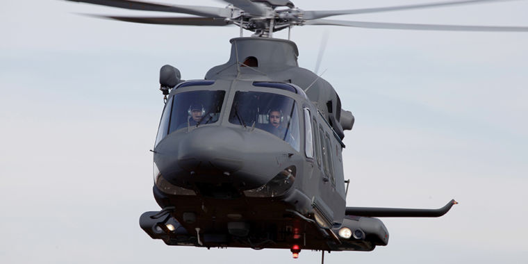 Blackhawks beaten out by Italian-designed copter for Air Force UH-1 replacement