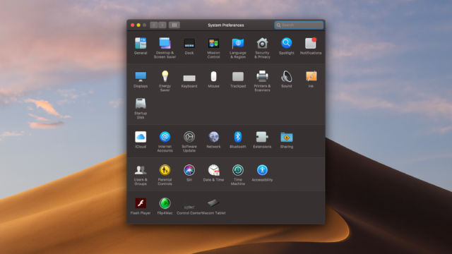 Why Mojave's dark mode isn't dark enough | Ars Technica