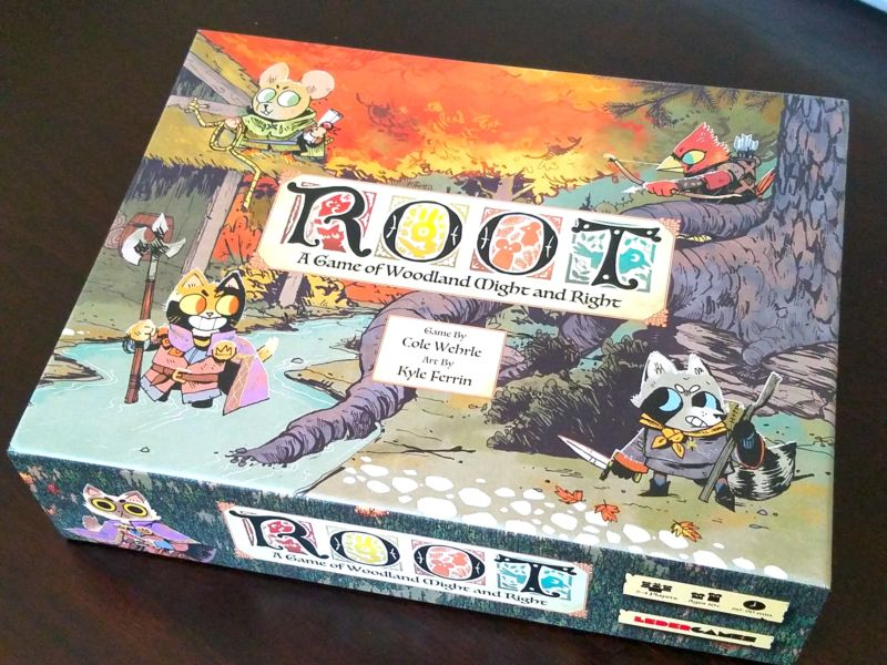 Root is a terrific—and fully asymmetric—woodland wargame