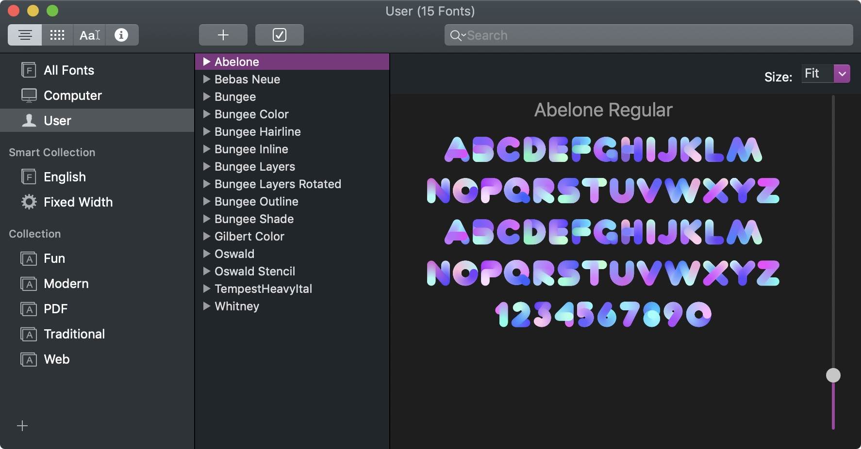 OpenType SVG fonts can integrate their own colors and textures.