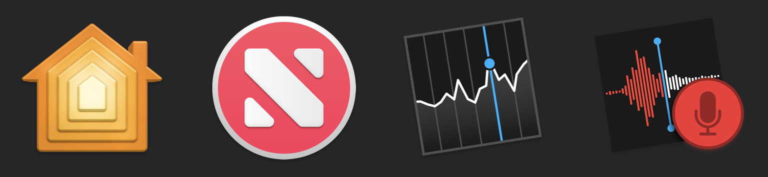 Home, News, Stocks, and Voice Memos are the first four iOS apps to make it to the Mac.