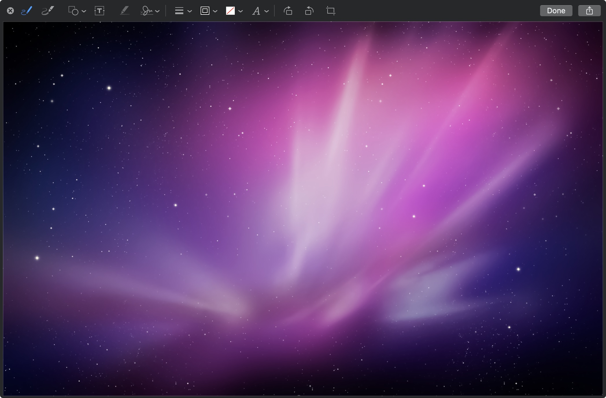 Mojave's Quick Look can rotate or draw on images, insert text into or sign PDFs, and more without making you open the file.