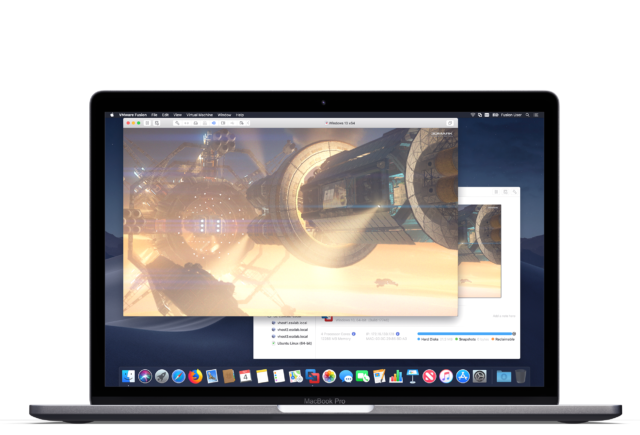 VMWare Fusion 11 adds support for Core i9 MacBook Pro and 18