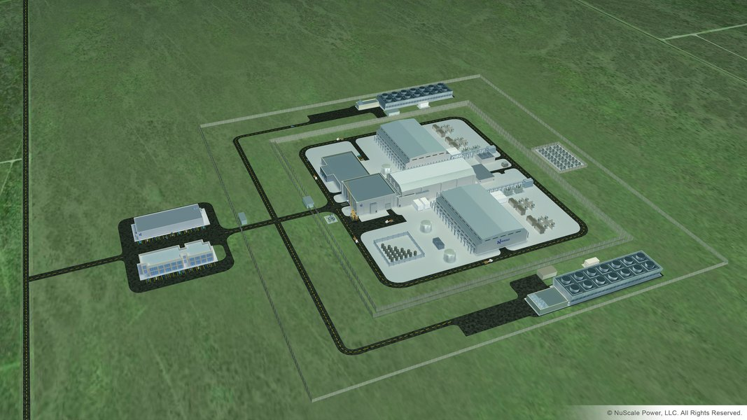 a good announcement and a bad announcement for two nuclear energy