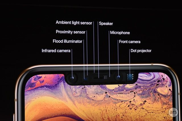 Apple wants us to feel convinced that its phones' notches are there for a good reason, as evidenced by this iPhone XS dissection.