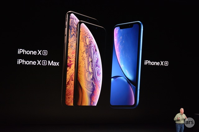 Three new iPhones.