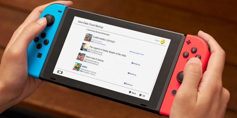 photo image Nintendo Switch cloud save data disappears if you cancel subscription