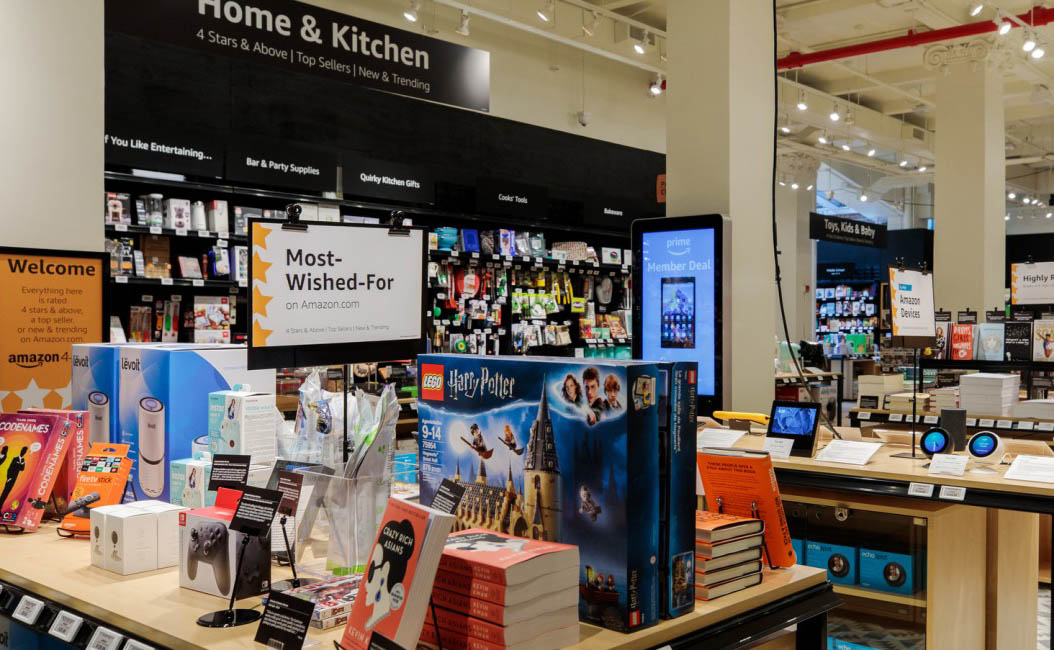 Amazon's newest brick-and-mortar store sells only top ...