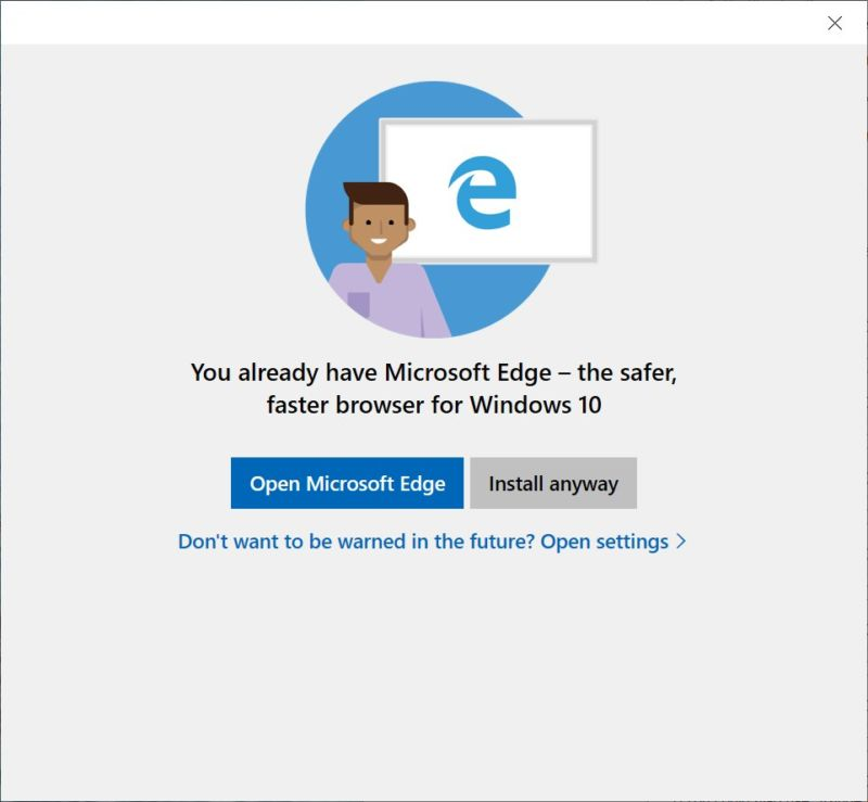 Next Windows 10 update triggers outrage by continuing to promote Edge