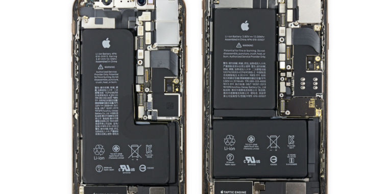 iFixit's iPhone XS and XS Max teardown: A look inside iPhone X 2.0 | Ars Technica