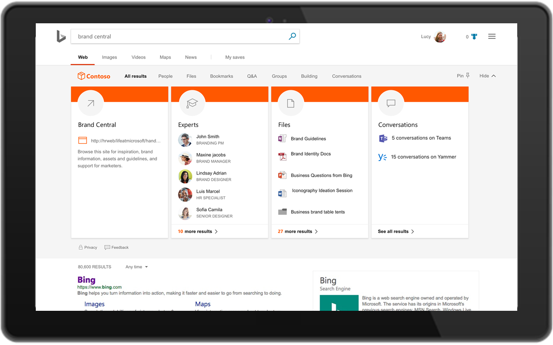 Microsoft unifying search across Bing, Office, and Windows ...