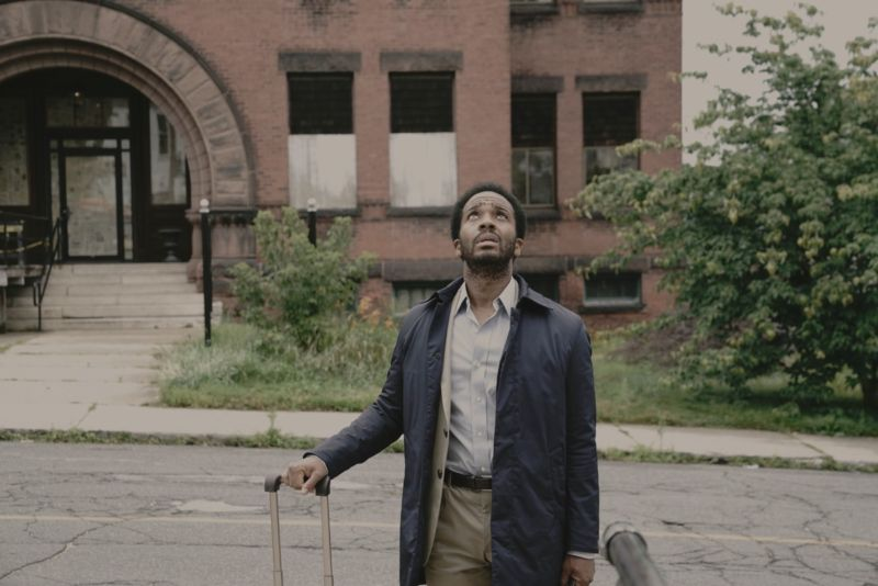 Attorney Henry Deaver (André Holland) returns to his childhood home and must confront terrors both past and present in Hulu's <em>Castle Rock</em>.