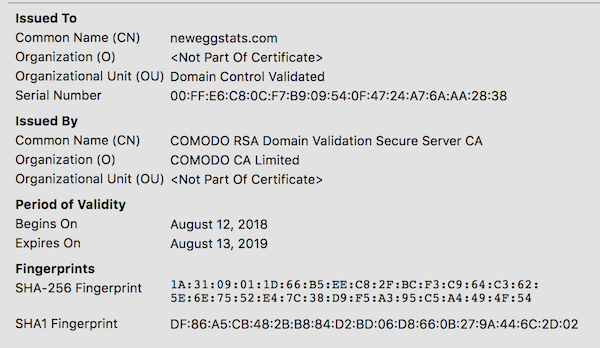 NewEgg cracked in breach, hosted card-stealing code within its own