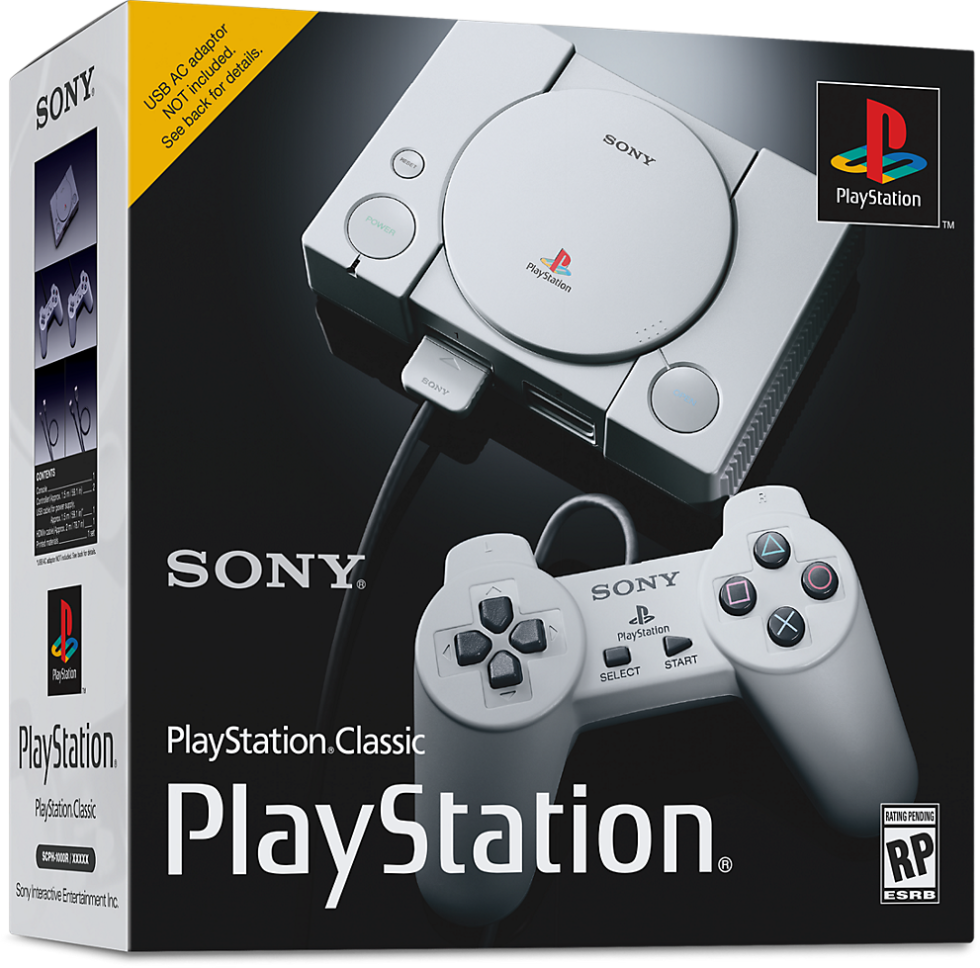 Sony joins the classic-console fray with $99 PlayStation Classic on Dec. 3
